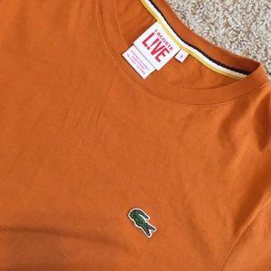 Lacoste L!ve T-shirt orange size3